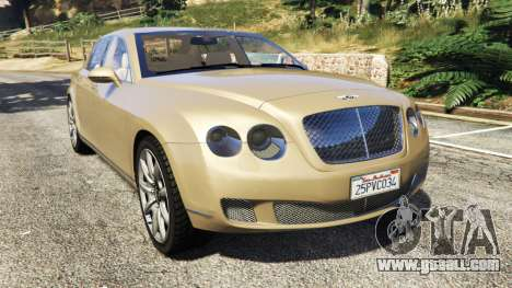 Bentley Continental Flying Spur 2010 for GTA 5