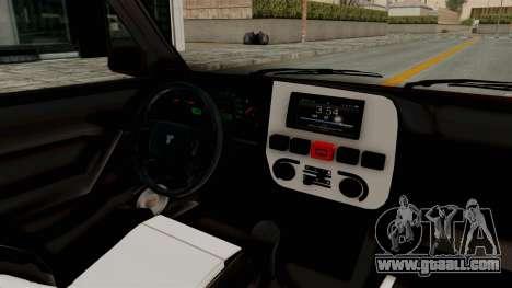 Tofas Dogan 1.6 for GTA San Andreas inner view