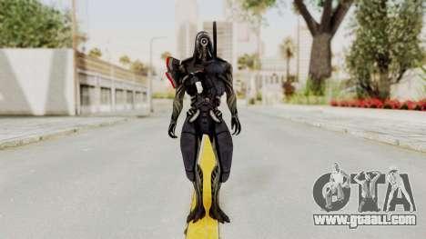 Mass Effect 2 Legion for GTA San Andreas second screenshot
