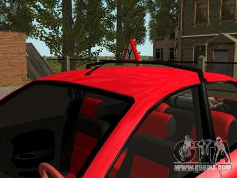 Daewoo Lanos (Sens) 2004 v1.0 by Greedy for GTA San Andreas interior