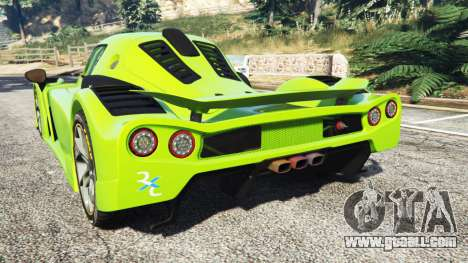GTA 5 Radical RXC Turbo rear left side view