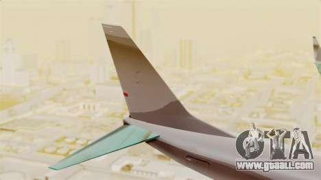 Boeing 737-3U3 Garuda Indonesia Retro for GTA San Andreas back left view
