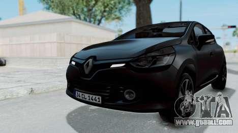 Renault Clio 4 IVF for GTA San Andreas