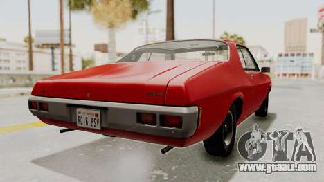 Holden Monaro GTS 1971 SA Plate IVF for GTA San Andreas left view