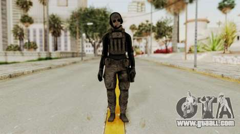 Phantomers Linda Sashantti Soldier for GTA San Andreas second screenshot