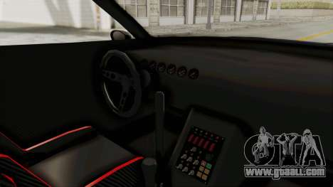 GTA 5 Annis Elegy Twinturbo Spec for GTA San Andreas inner view