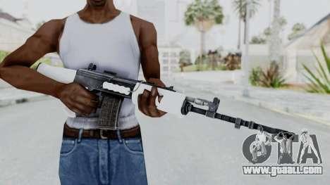 IOFB INSAS White for GTA San Andreas third screenshot