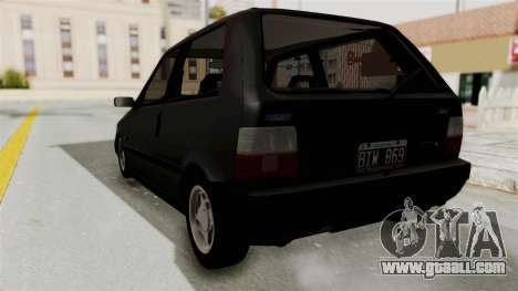 Fiat Uno for GTA San Andreas right view
