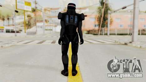 ME2 Shepard Default N7 Armor with Capacitor Helm for GTA San Andreas third screenshot