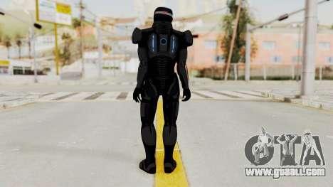 ME2 Shepard Default N7 Armor with Capacitor Helm for GTA San Andreas third screenshot