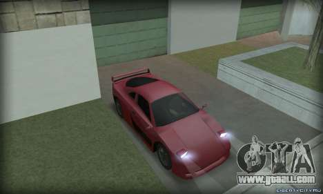 Ferrari F40 for GTA San Andreas right view