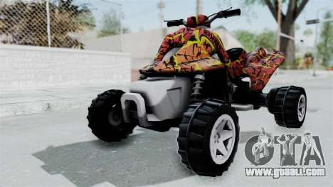 Sand Stinger from Hot Wheels Worlds Best Driver for GTA San Andreas