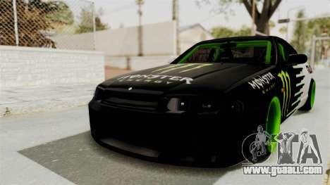 Nissan Skyline R33 Drift Monster Energy Falken for GTA San Andreas