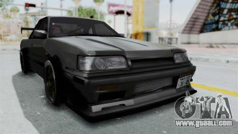 Nissan Skyline R31 for GTA San Andreas right view