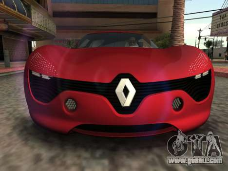 Renault Dezir Concept for GTA San Andreas right view
