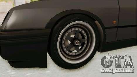 Ford Sierra Mk1 Drag Version for GTA San Andreas back view