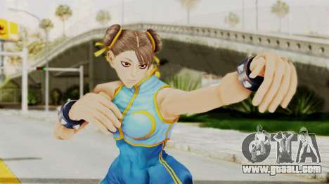 Chun Li Big Ass for GTA San Andreas