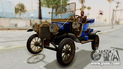Ford T 1912 Open Roadster v2 for GTA San Andreas right view