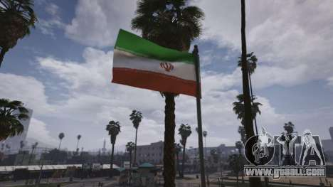 GTA 5 Iranian Flag sixth screenshot