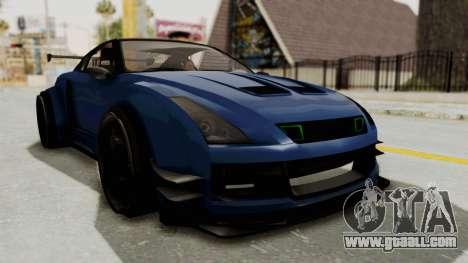 GTA 5 Annis Elegy Twinturbo Spec for GTA San Andreas right view