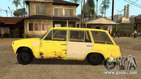 VAZ 2102 BK for GTA San Andreas left view