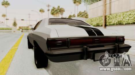 Ford Gran Torino 1975 for GTA San Andreas back left view