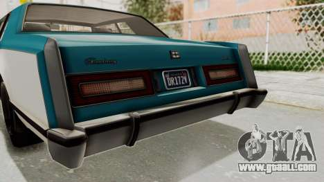 GTA 5 Dundreary Virgo Classic IVF for GTA San Andreas side view