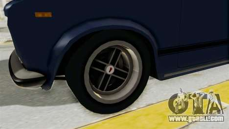 Seat 124 2000 for GTA San Andreas back view