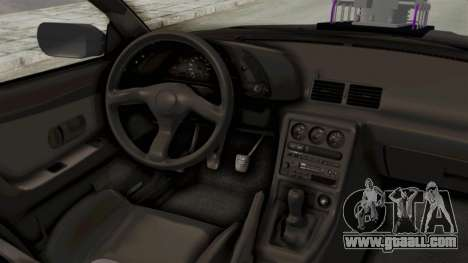 Nissan Skyline R32 4 Door Monster Truck for GTA San Andreas inner view