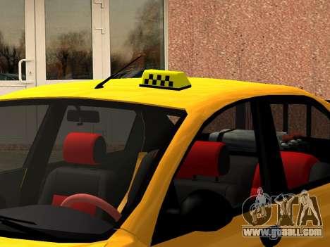 Daewoo Lanos (Sens) 2004 v1.0 by Greedy for GTA San Andreas wheels
