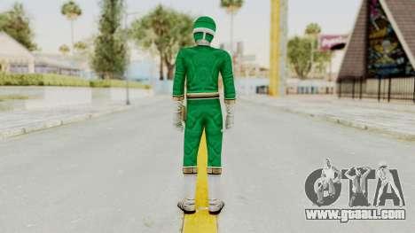 Power Rangers Lightspeed Rescue - Green for GTA San Andreas third screenshot