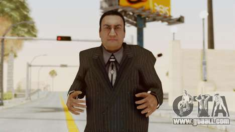 Taher Shah Black Suit for GTA San Andreas