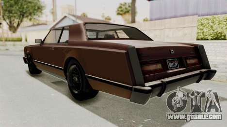 GTA 5 Dundreary Virgo Classic for GTA San Andreas left view