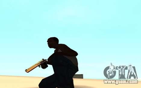 Desert eagle gradient for GTA San Andreas second screenshot