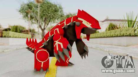 Mega Groudon for GTA San Andreas second screenshot