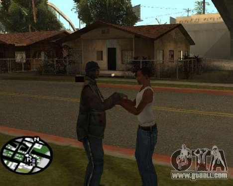 Gangster greeting for GTA San Andreas