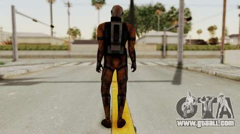 Mass Effect 2 Batarian for GTA San Andreas third screenshot