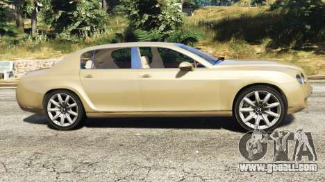 GTA 5 Bentley Continental Flying Spur 2010 left side view