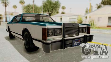 GTA 5 Dundreary Virgo Classic IVF for GTA San Andreas back left view