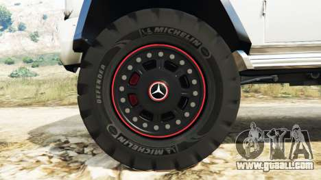 GTA 5 Mercedes-Benz G65 AMG 6x6 steering wheel