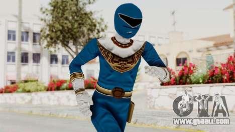 Power Ranger Zeo - Blue for GTA San Andreas