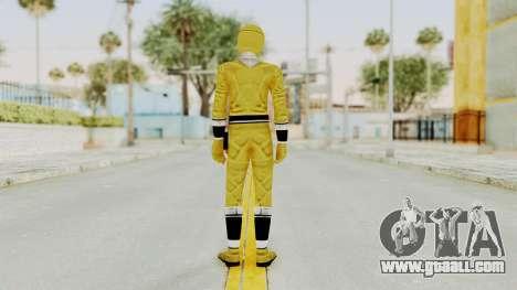 Alien Rangers - Yellow for GTA San Andreas third screenshot