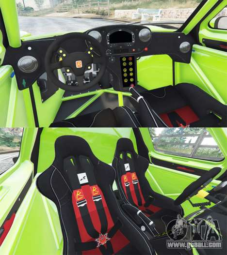 GTA 5 Radical RXC Turbo rear right side view