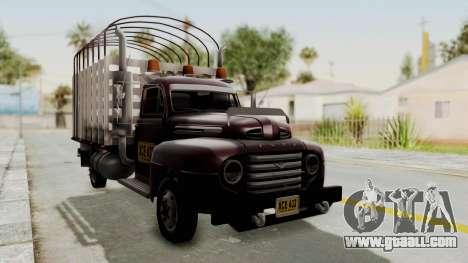 Ford 49 Con Estacas for GTA San Andreas right view