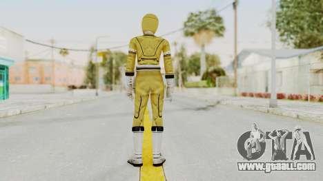 Power Rangers Turbo - Yellow for GTA San Andreas third screenshot