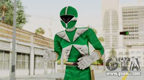Power Rangers Lightspeed Rescue - Green for GTA San Andreas