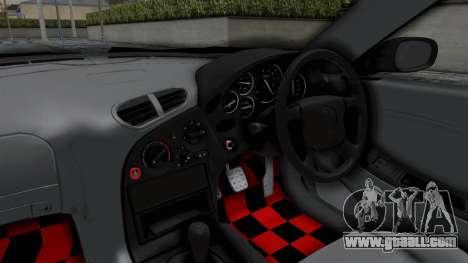 Mazda RX-7 FD3S HellaFlush for GTA San Andreas inner view