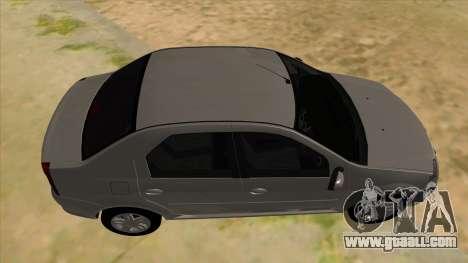 Dacia Logan for GTA San Andreas inner view