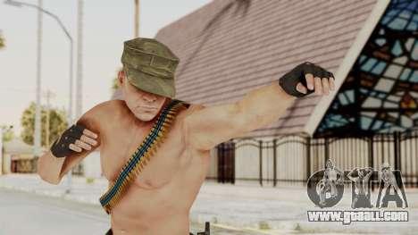 MGSV Phantom Pain Rogue Coyote Soldier Naked v1 for GTA San Andreas