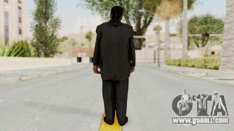 Taher Shah Black Suit for GTA San Andreas third screenshot